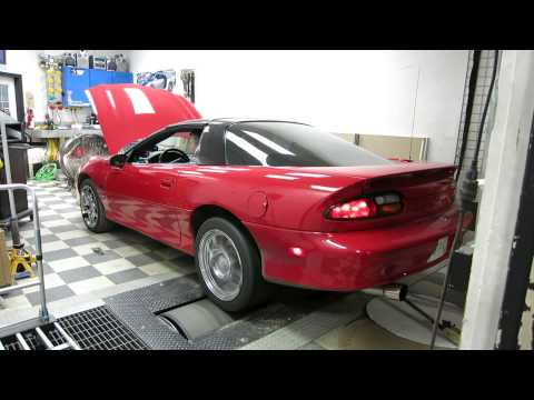 1998 Chevrolet Camaro STS LS2 75mm Turbonetics Dyno run - 750hp