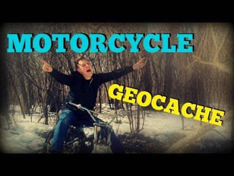 MOTORCYCLE GEOCACHE!