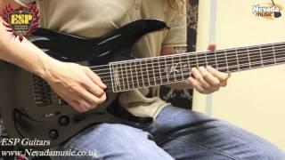 ESP Stephen Carpenter SC-608B 8 String Guitar - Sam Bell @ Nevada Music UK view on youtube.com tube online.