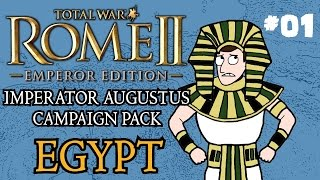 Let's Play Total War: Rome 2 Imperator Augustus Egypt