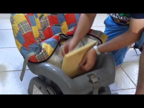 Como montar o cinto de segurança de cadeirinha de bebê para carro