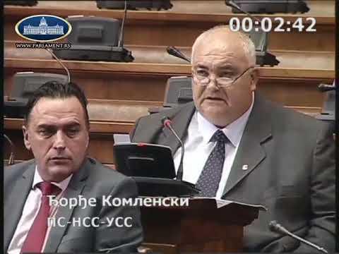 Ђорђе Комленски Да нису крали не би сада морали да враћамо кредите
