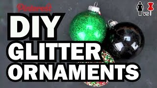 DIY Glitter Ornaments - Corinne Vs. Pin #6