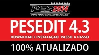 PES 2014 Como Instalar PESEDIT 4.3 100% Atualizado