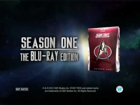 Star Trek TNG-R - Blu-ray Season 1 HD Trailer