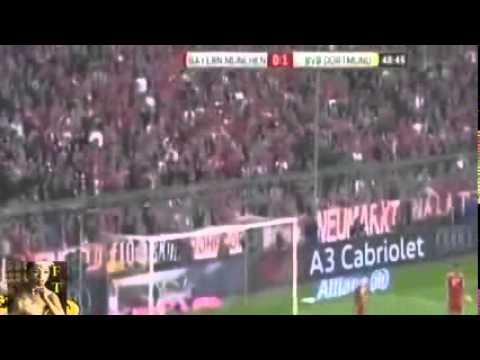 Bayern Munich 0 3 Borussia Dortmund Goals 12.04.2014