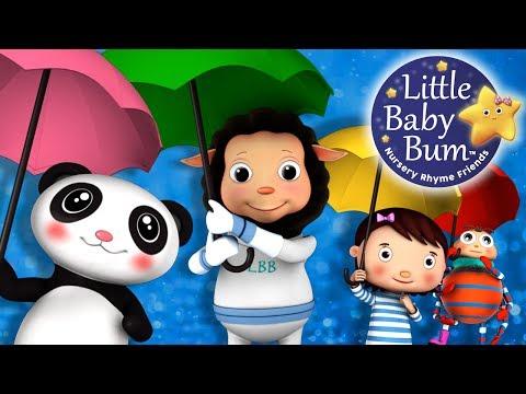 Rain Rain Go Away | Nursery Rhymes | HD Version