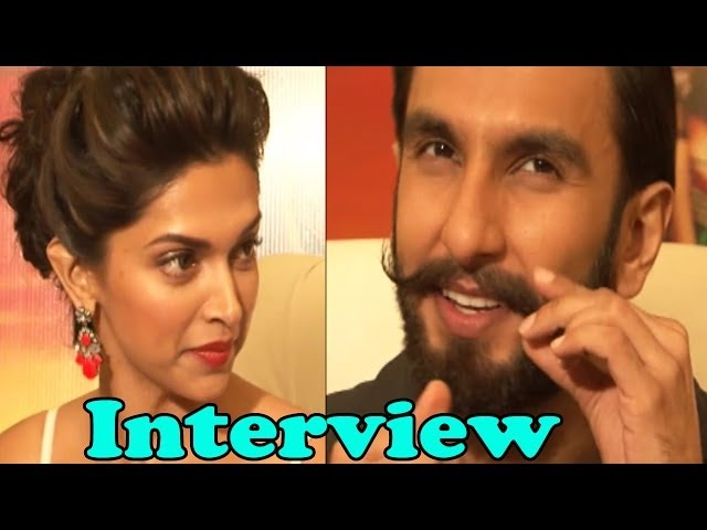Exclusive Interview Of Ranveer Singh & Deepika For ''Ramleela''