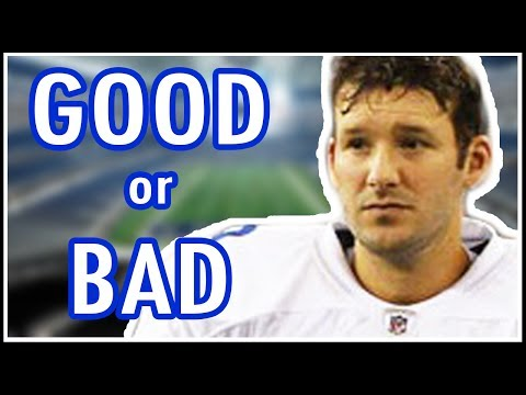 Tony Romo Fumbled Snap, Interceptions - Is Romo Elite?