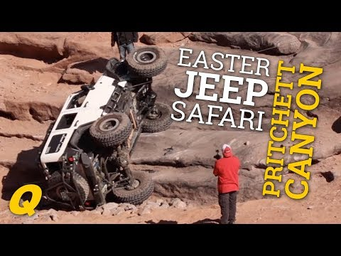 Pritchett Canyon Trail Run at Easter Jeep Safari 2017