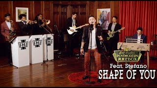 Shape Of You - Ed Sheeran ('70s Stevie Wonder Funk Style Cover) ft. Stefano