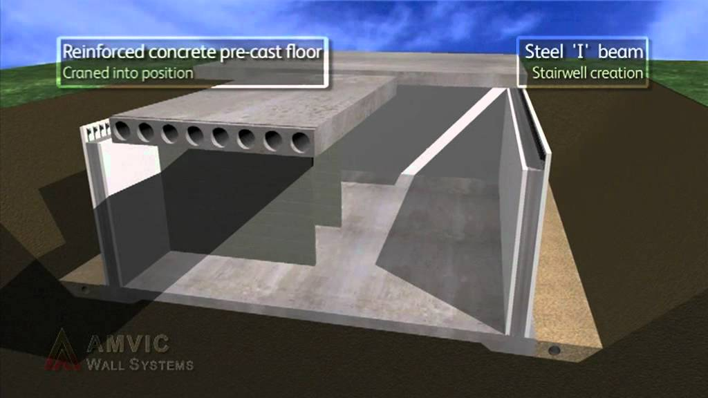 Amvic Insulating Concrete Formwork A Product Video By