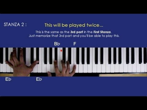 A THOUSAND YEARS New Version Piano Tutorial - Christina Perri ft. Steve Kazee