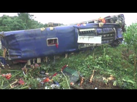 Tai nạn giao thông tại Quảng Nam làm 2 người chết, 14 người bị thương