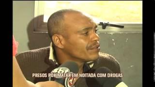 Homens s�o presos suspeitos de matar amigo em noitada com drogas no bairro Minas Caixa