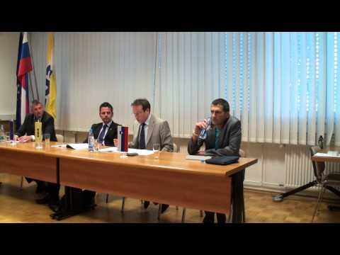 Pogovorni večer v Medvodah: Janez Janša - edini politični zapornik v EU (1. del)