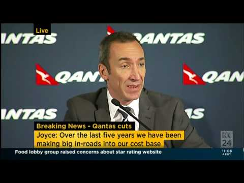 Alan Joyce Press Conference live - Questions seg 2 27-Feb-2014