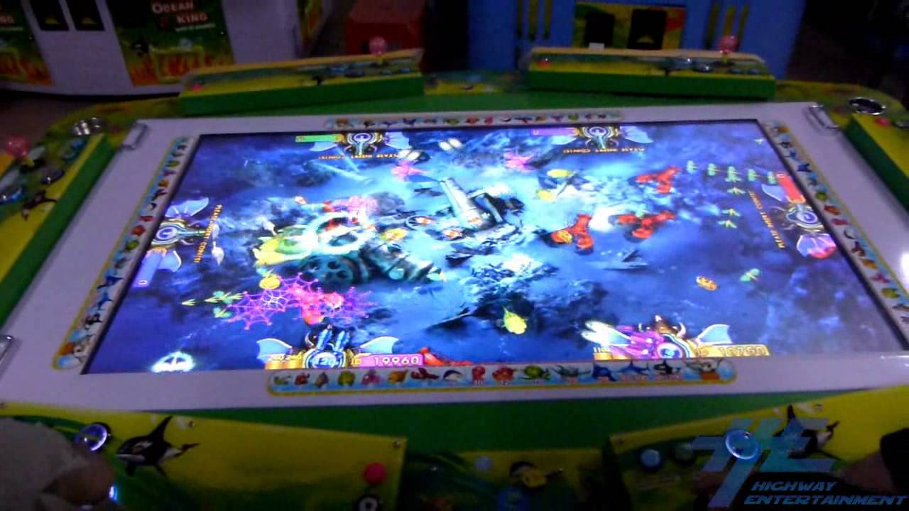 Ocean king fish arcade game gameplay 3 youtube for Ocean king fish game