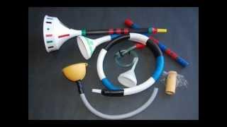 Manualidades - Instrumentos musicales de material reciclado