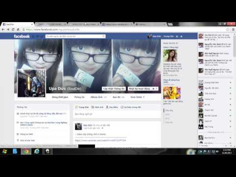 Hướng dẫn tăng like Status, Tăng like photo Facebook - Upa Đức (Phần 2)