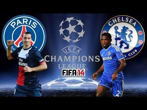 PSG VS. Chelsea (02/04/2014) UEFA CL - FIFA 14