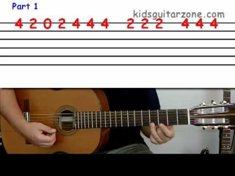 Happy birthday chord