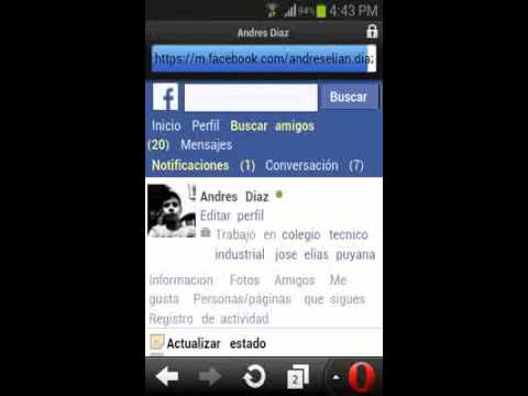 Como descargar videos de facebook con opera mini