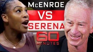 John McEnroe says he can beat Serena Williams | 60 Minutes Australia