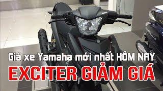 Giá xe Yamaha Exciter đen mờ bất ngờ giảm mạnh - Cập nhật giá bán xe Yamaha mới nhất hôm nay