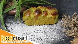 Hướng dẫn cách làm bánh mì hoa cúc trà xanh/ Daisy Matcha Brioche - BEEMART
