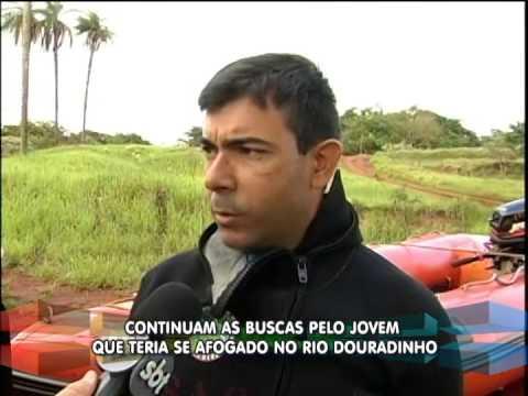 Continuam as buscas pelo jovem que teria se afogado no Rio Douradinho