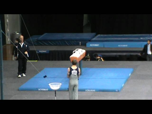 Nationals 2012 Luke Wiwatowski Pommel Horse