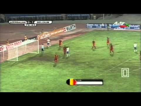 Azerbaijan - Belgium 1:1 (Euro 2012 Qualification) - 2nd Half