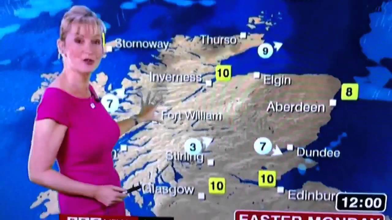 bbc weather girl carol