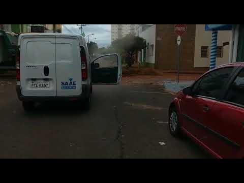 Vídeo Vazamento de gás é fechado no Centro e risco de explosão foi descartado