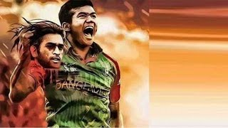 Taskin Ahmed's picture holding MS Dhoni's chopped-off head goes viral