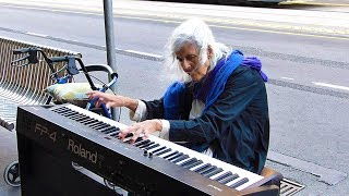 Top 10 AMAZING Street Performers Musicians Piano (2017)
