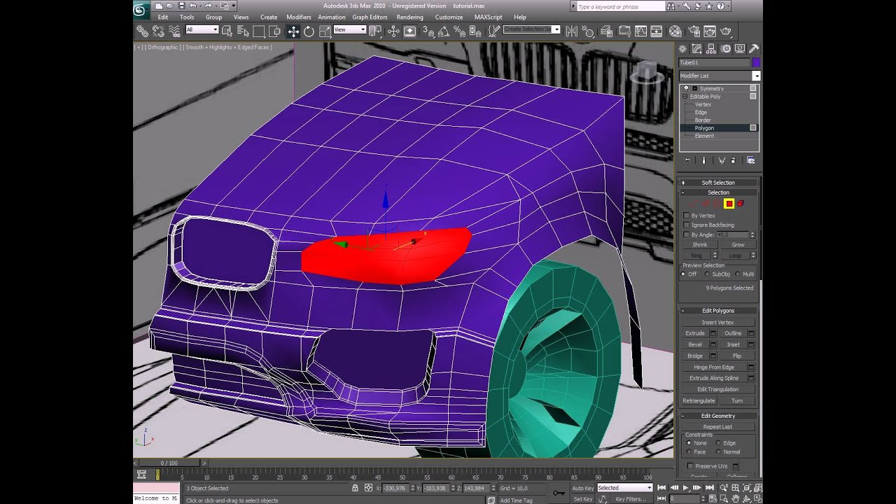 how to get rid of the separator in 3ds max