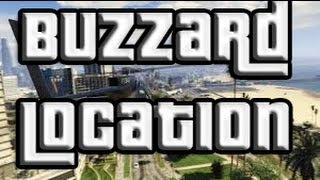 GTA 5 Free Attack Helicopter! GTA V Buzzard Helicopter