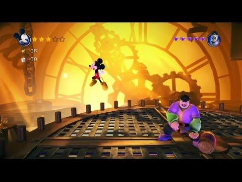 Gry dla dzieci - Myszka Miki - ZAMEK- Castle of Illusion #5 Game Play