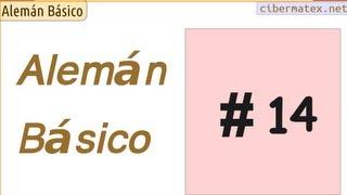 Alemán básico. Lección 14