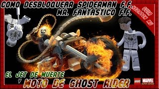 LEGO Marvel Como Desbloquear Moto De Ghost Rider