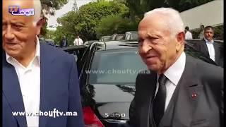 حصــــري..لحظة وصول أحمد عصمان إلى منزل الوزير الأول الأسبق كريم العمراني الذي رحل إل دارالبقاء   |   بــووز