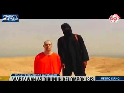 Video Pembunuhan Wartawan AS Oleh Kelompok ISIS | 20 Agustus 2014