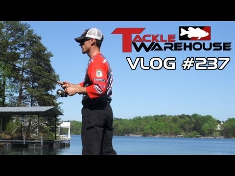 Fishing the Missile Baits Fuse 4.4 & Warlock Head with John Crews at Lake Lanier - TW Vlog 237