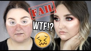 MAJOR FAIL! | FULL FACE OF FIRST IMPRESSIONS .. WTF!?! | RawBeautyKristi
