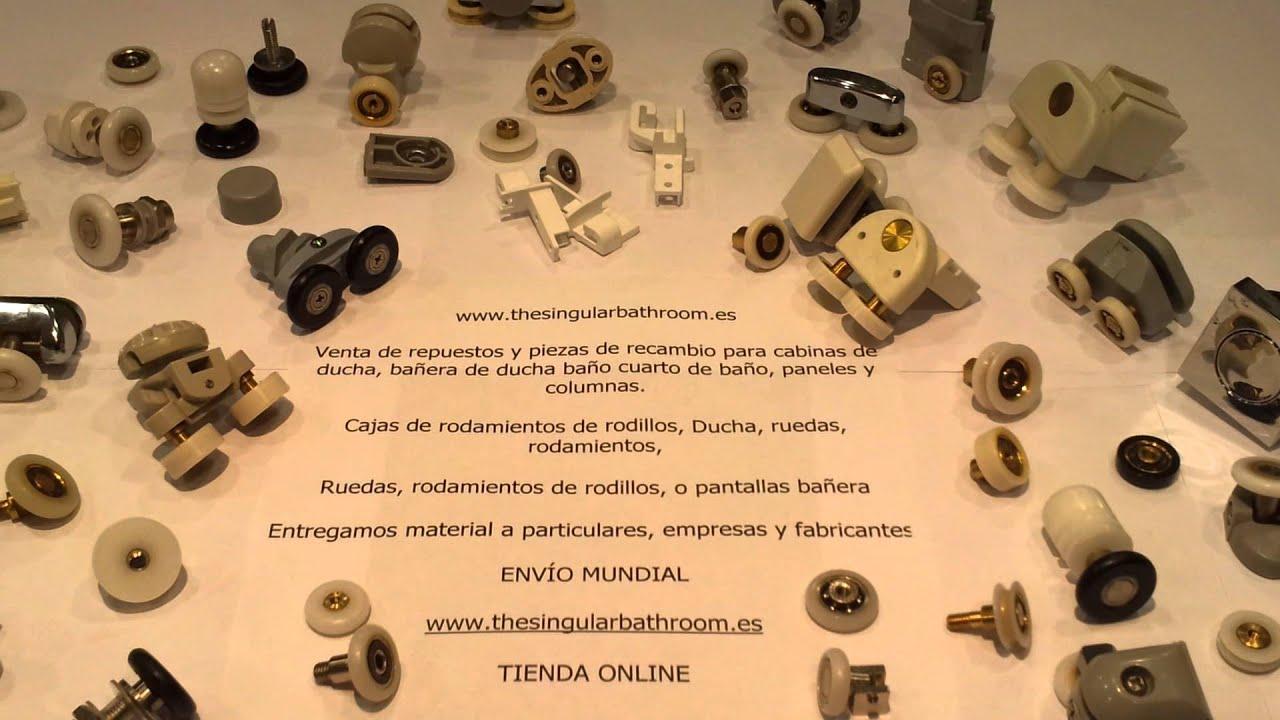 Venta de repuestos y piezas de repuesto para cabinas de for Cabinas de ducha medidas