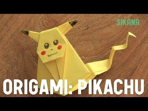 Comment faire un Pikachu en papier ?