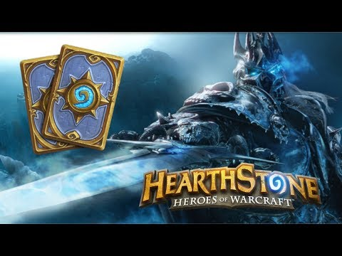 Hearthstone (Gameplay) - Knights of The Frozen Throne - Control Warlock deck - MAGES ARE OP!!