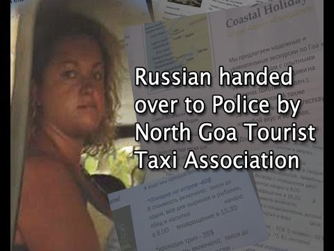 TOURIST TAXI ASSOCIATION HANDOVER RUSSIAN FEMALE TO THE POLICE
